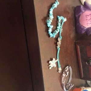 Bracelets and necklace pendant